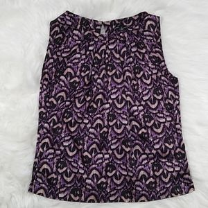 Chaus sleeveless top business professional size 4